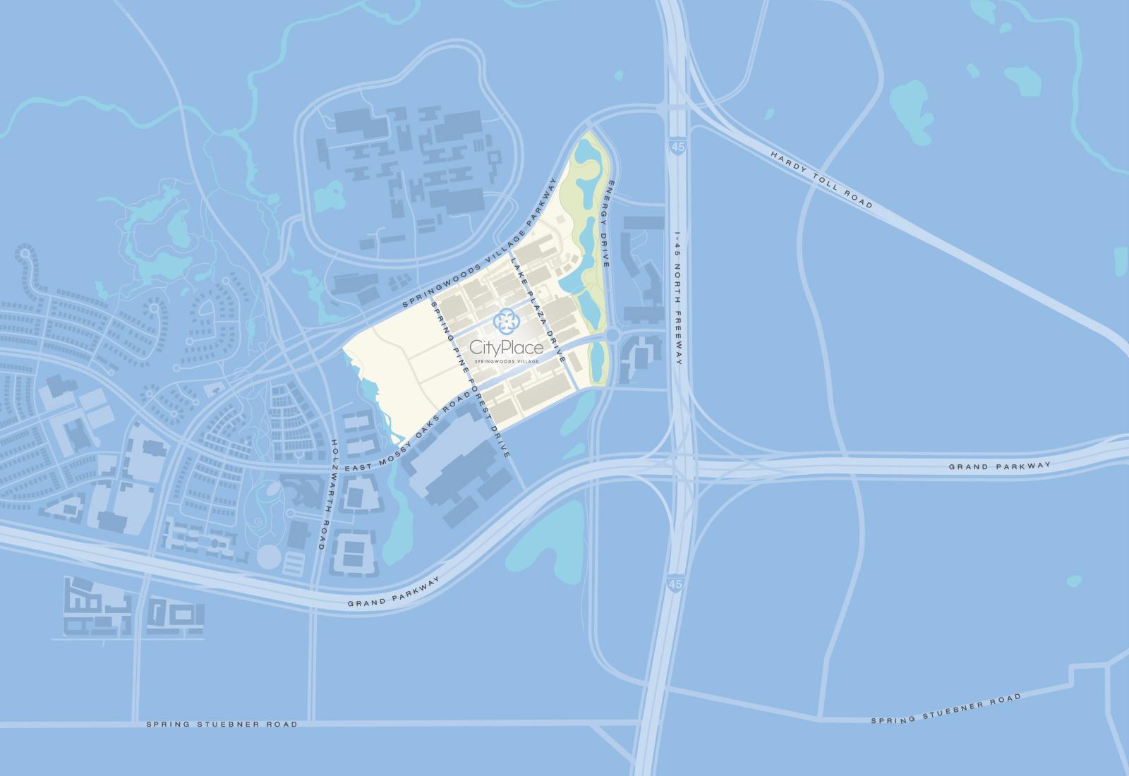 CityPlace | Ingress/Egress Map